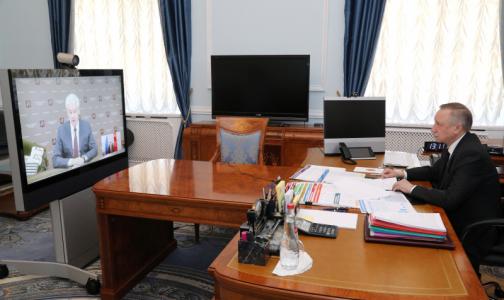 Беглов: В петербургских ковидных стационарах препаратов хватит минимум на две недели