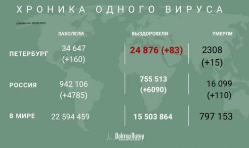 За время эпидемии от коронавируса умерли более 16 тысяч россиян