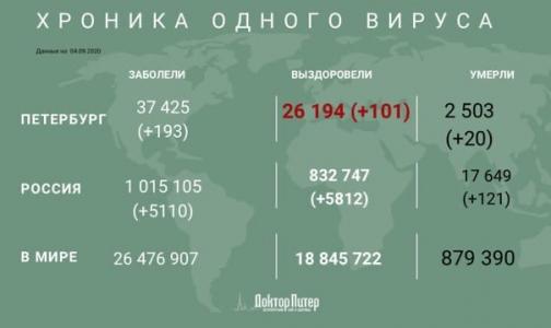 За время эпидемии от коронавируса умерли более 2,5 тысяч петербуржцев