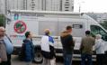 Как петербуржцам привиться от гриппа у метро и торговых центров