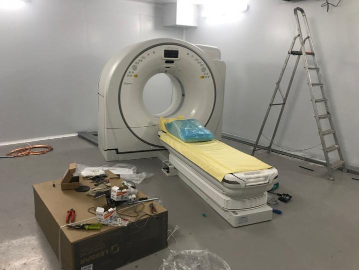 «Ленэкспо» готовится встретить первых пациентов «второй волны»