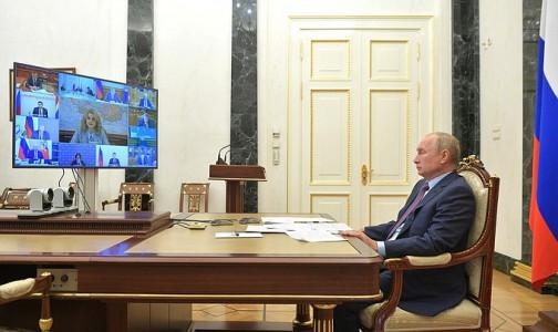 «Чтобы на этом никто не наживался!» Путин призвал не допустить «наживания» за счет средств для борьбы с COVID-19