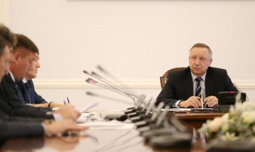 Губернатор Петербурга отчитался, что горожане нарушают коронавирусный режим в Петербурге в два раза реже