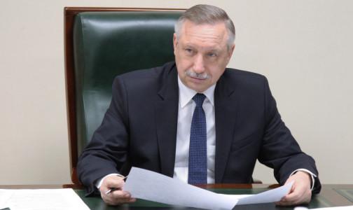 Беглов признал, что Петербург оказался на грани полного локдауна из-за COVID-19