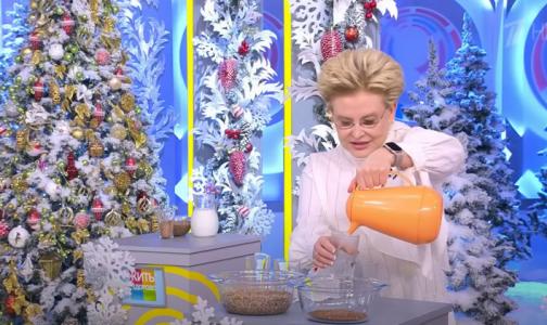 Елена Малышева: Чтобы похудеть за 5 дней до Нового года, надо чередовать огурцы с кефиром