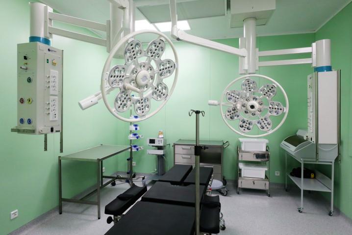 Новый корпус городской больницы №33 в Колпино