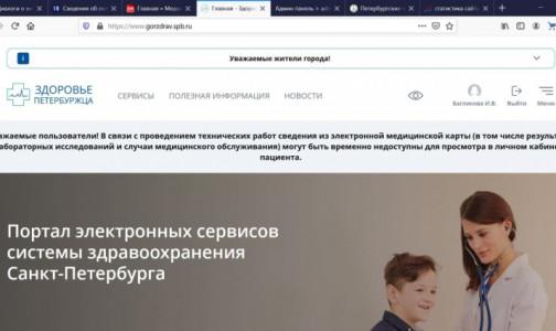 «Здоровье петербуржца» закрыло от пациентов результаты тестирования на коронавирус на каникулах. Но обещает их вернуть