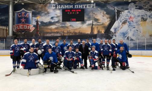 Медицинский хоккей. Врачи Петербурга проиграли московском коллегам на льду