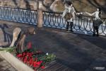 Фоторепортаж: «Памятник погибшим врачам снова открыли без организаторов. В этот раз комздрав»
