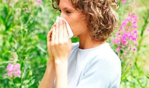 В Петербурге начинает цвести... аллергия