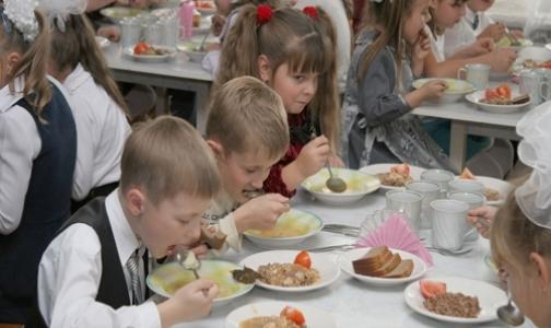 В школах Петербурга пройдут уроки по здоровому питанию