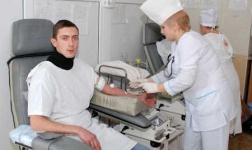 Перед праздниками в Петербурге пополнят запасы крови