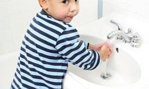 Чистые руки уберегут от гриппа