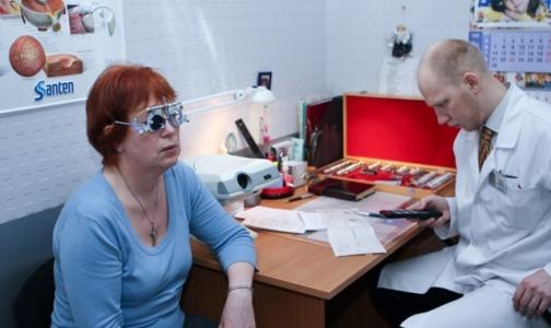 В Петербурге создадут центры глаукомы