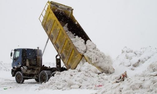 Токсичный снег снова загрязняет Финский залив
