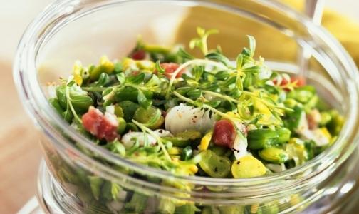 Что добавить в весенний салат