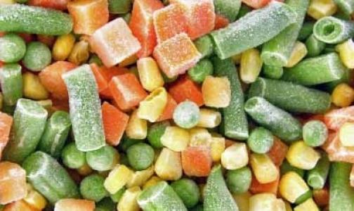 Россия разрешила ввоз замороженных овощей из Евросоюза