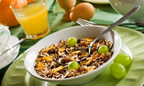 Сухие завтраки вредны для детей
