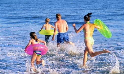 На побережье Азовского моря открыт курортный сезон