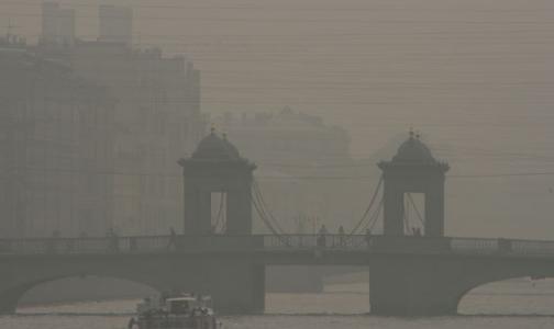 Сегодня над городом летали частицы сажи и чувствовался запах гари