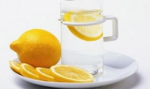 Начните свой день с воды и лимона