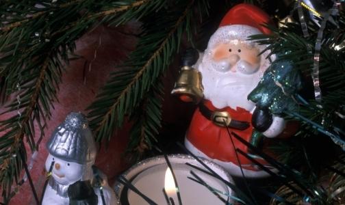 Снегурочки и Деды Морозы в Петербурге не тают. Они горят