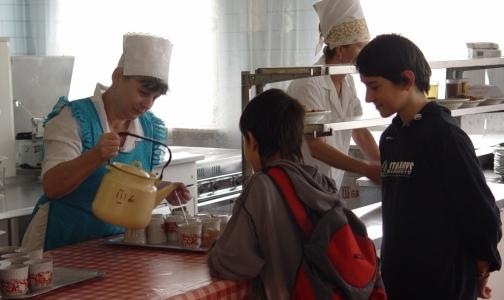Школьное питание ставят на поток