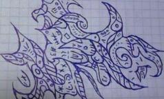 Рисуя бессмысленные каракули на бумаге, человек выдает себя с потрохами