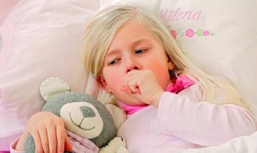 В Петербурге резко выросло число детей, болеющих коклюшем
