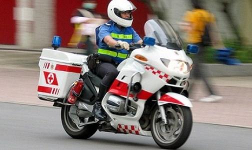 Российским врачам нравится идея «Скорой помощи» на мотоциклах