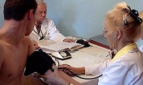 70 процентов призывников Петербурга здоровы и годны к воинской службе