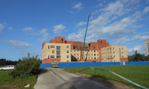 Строительство тубдиспансера № 5 возобновилось. Обещают сдать в 2013 году