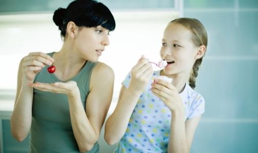 Cемейные ужины приучают детей к здоровой еде