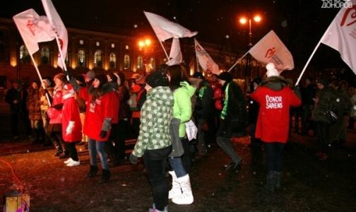 Молодежные организации приглашают петербуржцев записываться в доноры прямо на улице