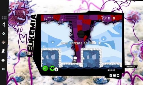 В интернете появилась бесплатная онлайн-игра, в которой можно убить рак