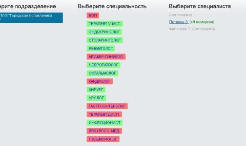 Как в Петербурге записываются к врачу через интернет