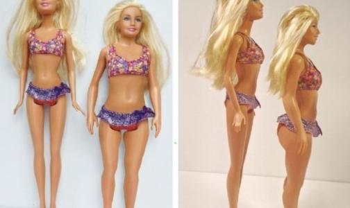 Американец создал куклу Барби по параметрам обычной девушки