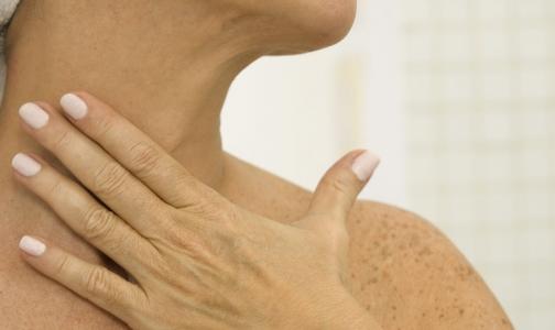 Операция на щитовидной железе без разрезов и рубцов