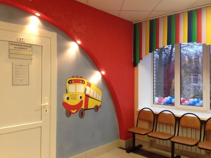 В Калининском районе после ремонта открылась детская поликлиника