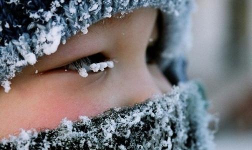 МЧС советует петербуржцам в морозы не выходить из дома голодными