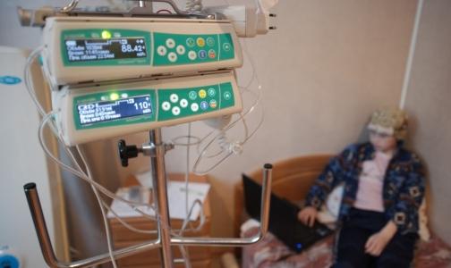 Сколько детей в Петербурге страдают онкологическими заболеваниями