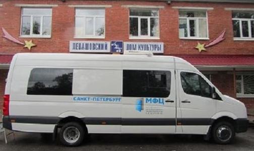 Где в апреле получить полис ОМС в мобильных МФЦ Петербурга