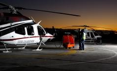 В петербургскую клинику на вертолете доставят пожилого голландца с инфарктом