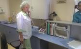 Фоторепортаж: «В петербургском онкодиспансере для врачей и медсестер установили тревожные кнопки»