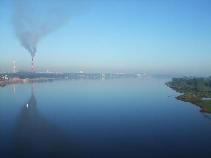 В атмосферу Петербурга попали полмиллиона тонн вредных веществ