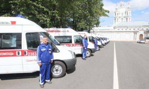 Полтавченко проверил 58 новых автомобилей для службы скорой помощи