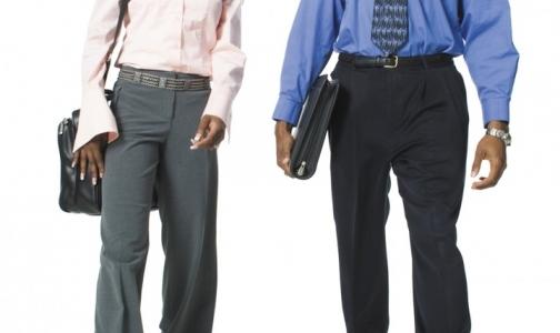 Для сохранения стройности работникам нужно стоять не меньше часа в день