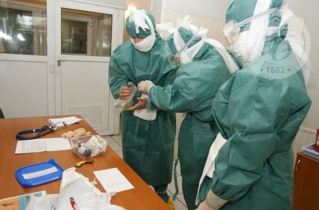 В приемный покой больницы им. Боткина «доставлен» пациент из Нигерии с лихорадкой Эбола