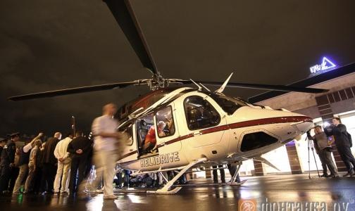 Врачи госпитализировали «пострадавших» в учениях в петербургском метро на вертолете