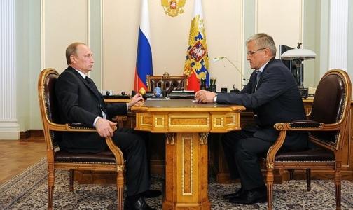 Ректор Первого меда — Путину: Чтобы «сварить» хорошего врача, нужна клиническая база